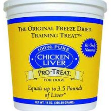 Gimborn Treat Freeze Dried Chicken Liver 14 oz