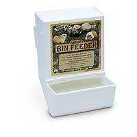 Gravity Bin Feeder Assorted Colors by Superpet