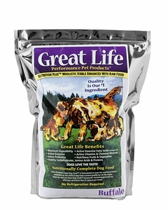 Great Life Buffalo Dog Food 8 Lbs