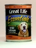 Great Life Wild Salmon Canned Dog Food 12 / 13 oz