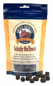 Grizzly NuTreats 6oz Bag Salmon Oil Dog Treats