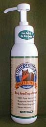 Grizzly Salmon Oil 32oz Pump Bottle