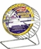 "(H94) Living World Chrome Plated Mouse Wheel, 5"" dia."