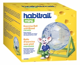 Habitrail Mini Exercise Ball with Stand