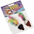 Hagen Catit 2-Tone Mouse with Feather 2 Pieces