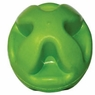 Hagen Dogit Criss-Cross Rubber Ball Toy Lime