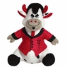Hagen Dogit Luvz Plush Cow Toy Devil Cow