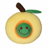 Hagen Dogit Plush Worm Yellow Apple Fruity Toy