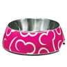 Hagen Dogit Style Bowl Pink Bones Small