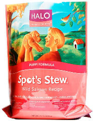 Halo Spot's Stew Dry Puppy Food - Salmon - 6 Lb Bag