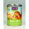 Halo Spot's Stew For Dogs Wholesome Lamb Recipe Canned Dog Food 12 / 13 oz Cans