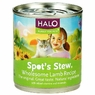 Halo Spots Stew For Cats Wholesome Lamb Recipe Canned Cat Food 12 - 5.5 oz Cans