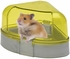 Here and There Corner Potty With Sifter Scoop - Yellow and Silver