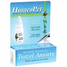 Homeopathic Travel Anxiety 15 Ml Bottle