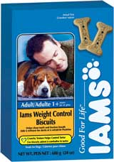 Iams® Adult Weight Control Biscuits 4 lbs.