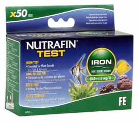 Iron (0.0-1.0 mg/l) for Fresh & Saltwater, 50 tests