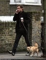 Jude Law and his Dog in London