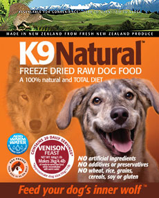 K9 Natural Freeze Dried Raw Venison Dog Food 1.1 Lb