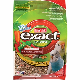 "Kaytee® Exact® Natural Parakeet & Lovebird Food 2 lb. (formerly ""Original"")"