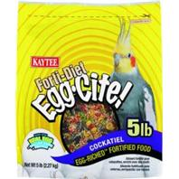 Kaytee® Forti-Diet® Egg-Cite!™ Cockatiel Food 5 lbs.