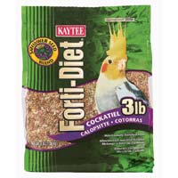 Kaytee® Forti-Diet® Safflower Blend Cockatiel Food 3 lbs.