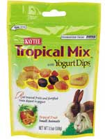 Kaytee® Tropical Mix™ w/Yogurt Dips for Small Animals 3.5 oz