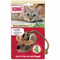 Kong® Cats With An Attitude® Tennis Ball Mouse