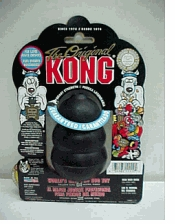 Kong Original Large Black Chew Toy