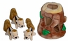 Kyjen Hide A Squirrel� Puzzle Plush Hide N' Seek Dog Toy Jumbo