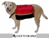 Kyjen Outward Hound Quick Release Dog Backpack X-Large
