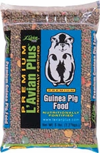 L'Avian Plus Guinea Pig Food 5 Lb Bag