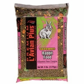 L'Avian Plus Rabbit Food 20 Lb Bag