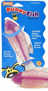 Large Fish Flexible Puppy Chew Toy by Nylabone