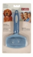 Le Salon Oval Combo Bristle and Slicker Brush, Large