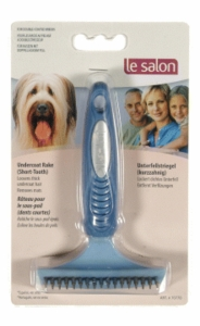Le Salon Short Undercoat Rake, 17 Short Teeth