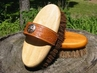 "Legends Palmyra Large (8"") Western Style Strap Back Oval Brush"