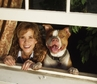 Linda Blair with her dog Tobey