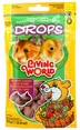 "Living World ""DROPS"" Hamster Treat, 2.6 oz., Field Berry"