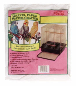 "Living World Gravel Paper 12"" x 14"", 8/pack"