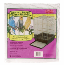 "Living World Gravel Paper, 15-3/4"" x 15-1/2"", 8/pack"