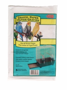"Living World Gravel Paper, 8"" x 13"", 8/pack"