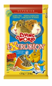 Living World Guinea Pig Food, 3 lbs.