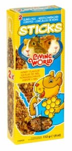 Living World Guinea Pig Honey Sticks, 4 oz.