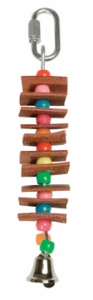 Living World Junglefun Small Leather Skewer w/ Beads,