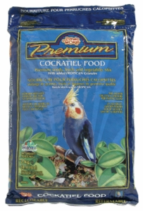 Living World Premium Cockatiel Mix, 4.4 lbs., pillow bag