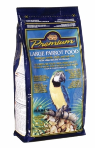 Living World Premium Large Parrot Mix, 1.7 lbs., standup zipper bag