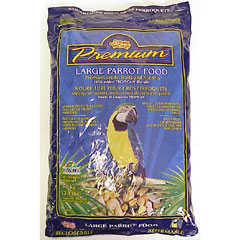 Living World Premium Large Parrot Mix, 3.9 lbs., pillow bag