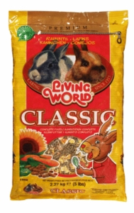 Living World Premium Rabbit Mix, 5 lbs