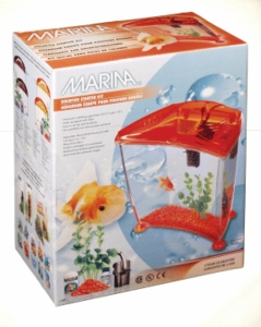 Marina Goldfish Kit, UL, Orange, Medium