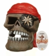 Marina Ornament Pirate Skull Large